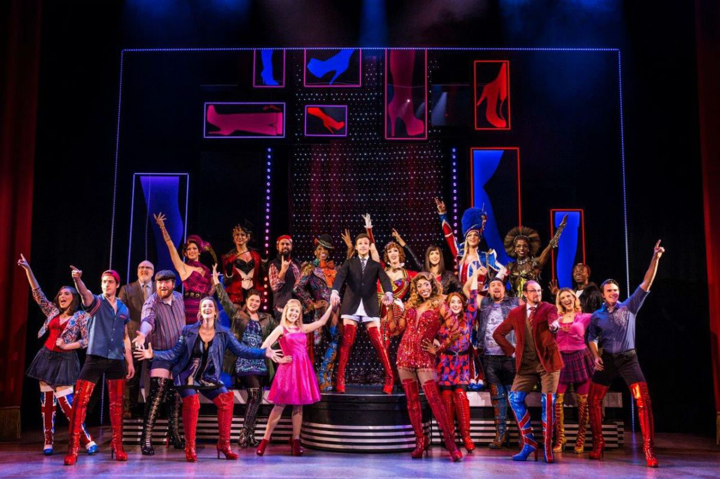 Jos N. Banks kills it as drag queen Lola in 'Kinky Boots' at Academy of Music