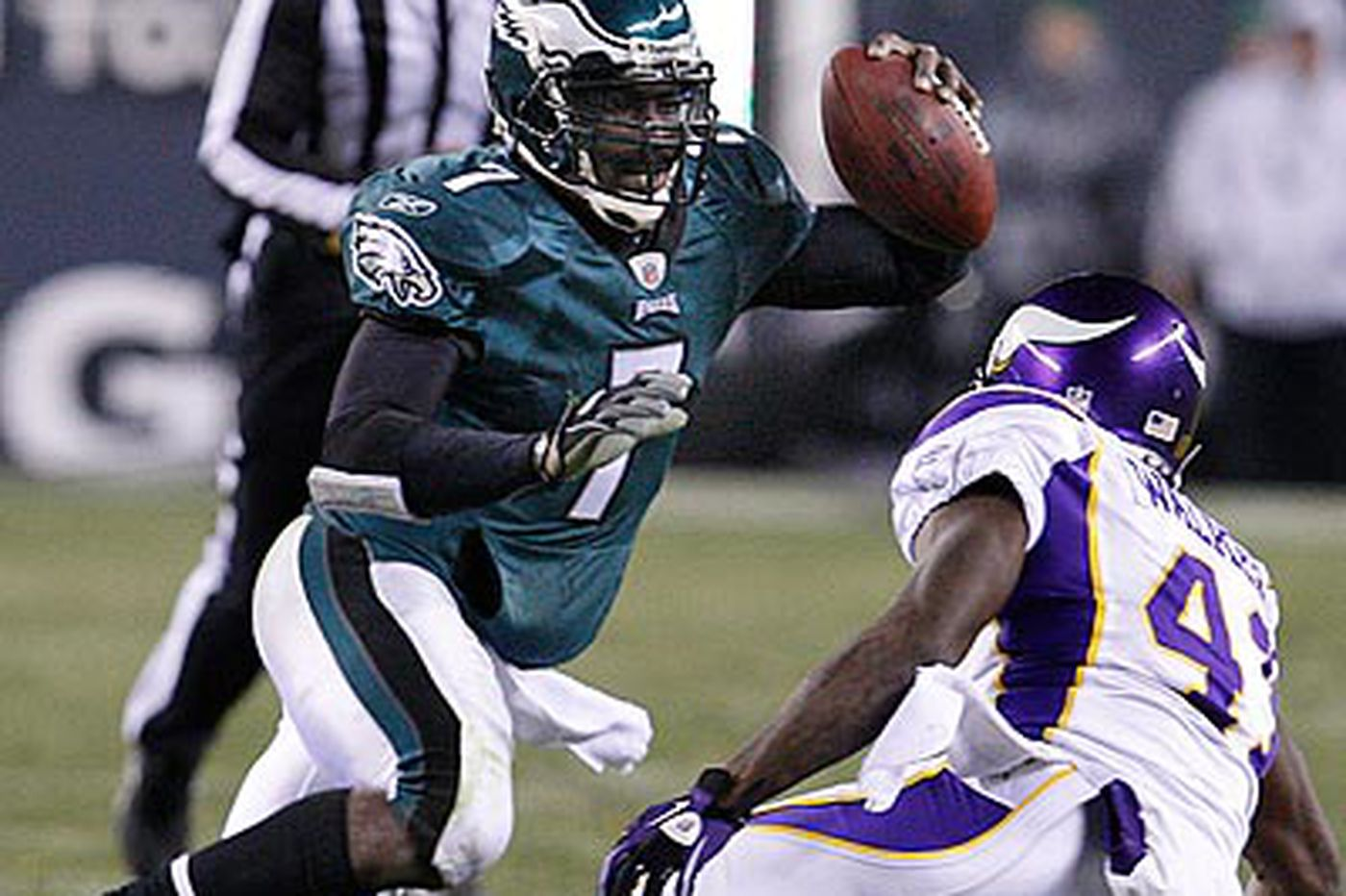 Eagles Rewind: Vikings' tricky blitz gave Vick fits
