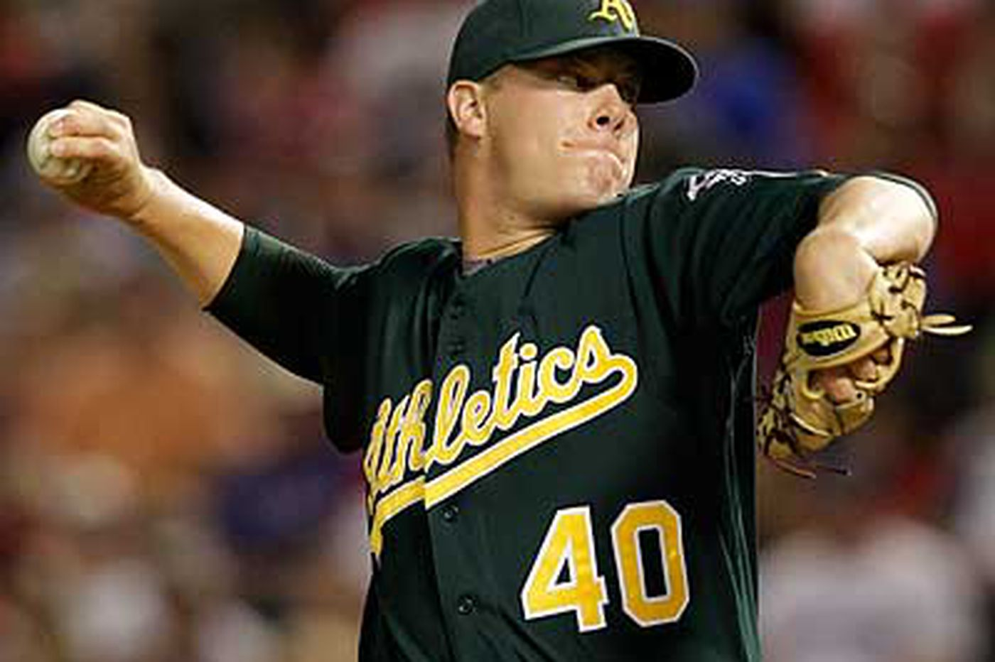 A's Bailey to Red Sox
