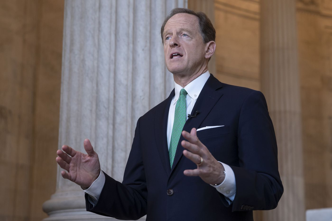 Toomey wades into fight over $100M private schools bill