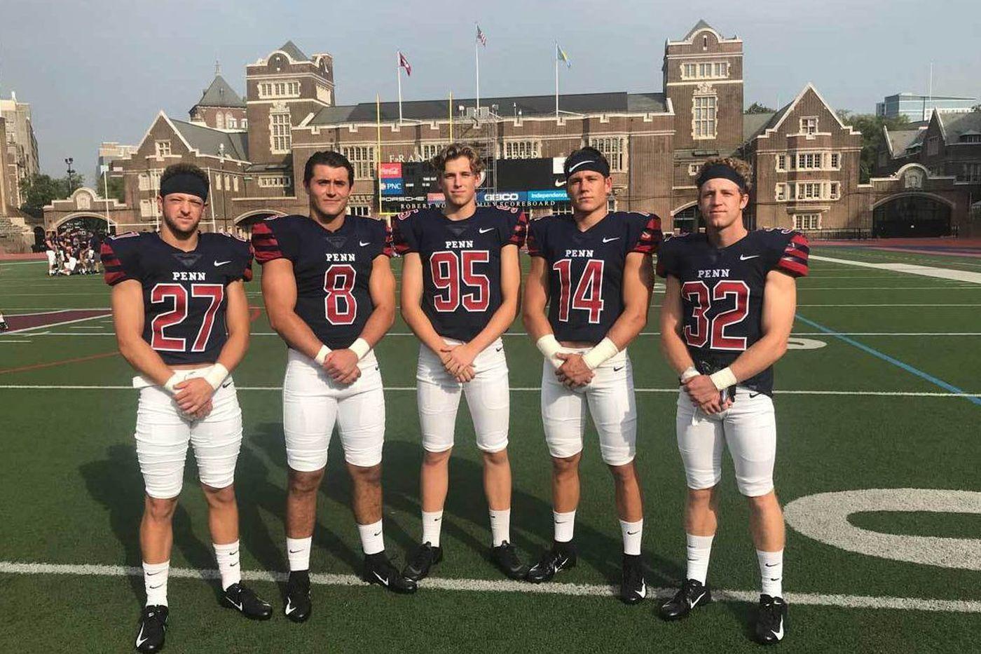 Five high school teammates ride a cross-country pipeline to Penn | Football season preview