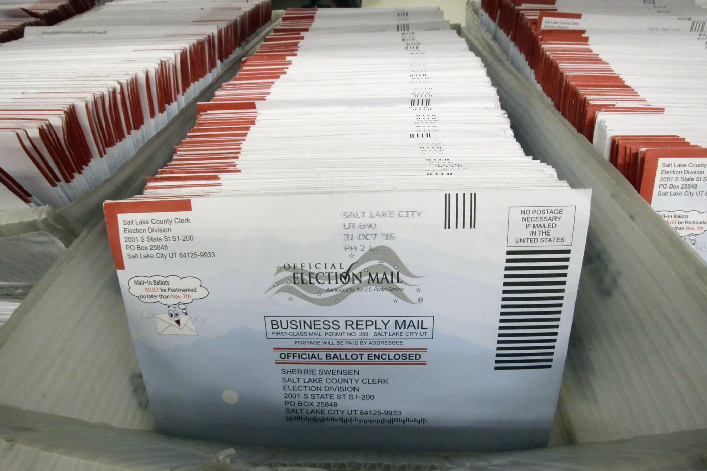 A key Democratic group is suing to ease Pennsylvania's vote-by-mail laws