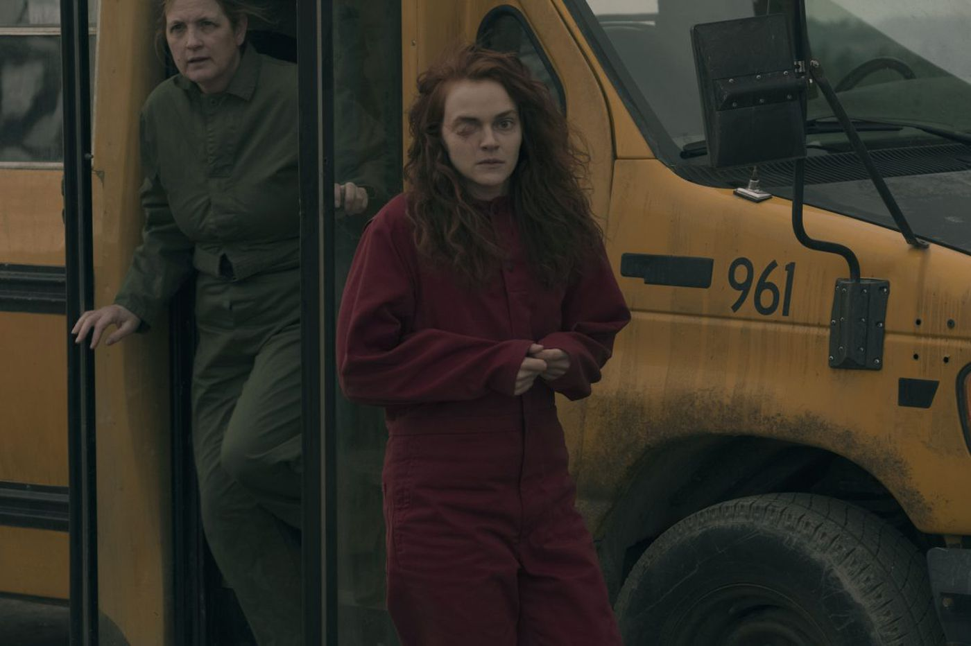 S. Jersey 'Handmaid's Tale' star: Her one-eyed character, Janine, is 'just happy to be alive'