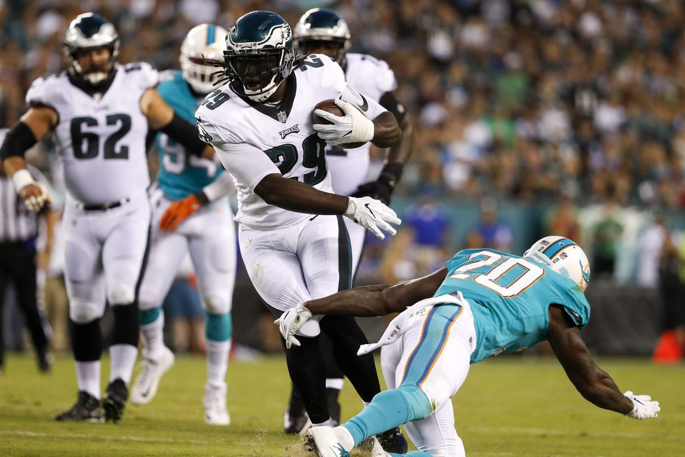 Which Eagles running back will stand out this season?