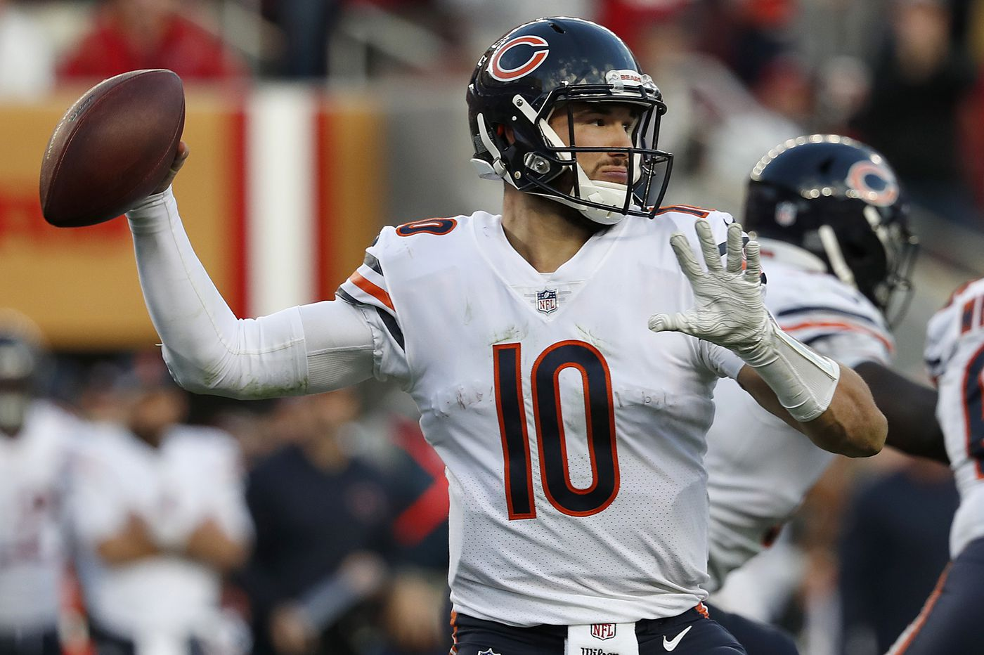 Against 'Big Game Nick' Foles, which Mitch Trubisky will the Eagles see? | Marcus Hayes