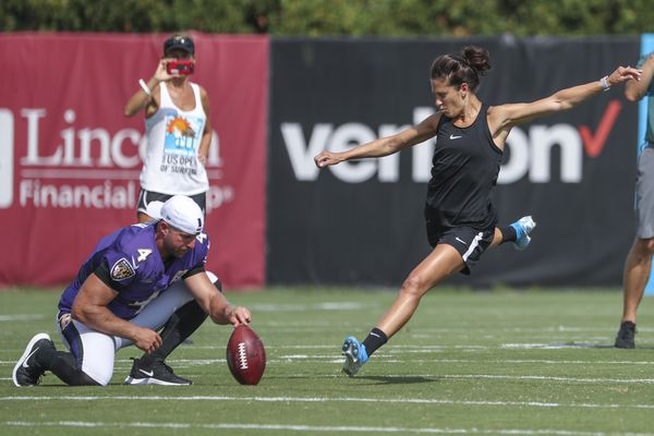 Carli Lloyd 'seriously considering' NFL offer to kick field goals
