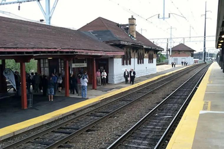 Wayne Junction rail station will undergo a $30 million makeover - a potential major catalyst for development in Germantown. (Paul Nussbaum / Staff Photographer)