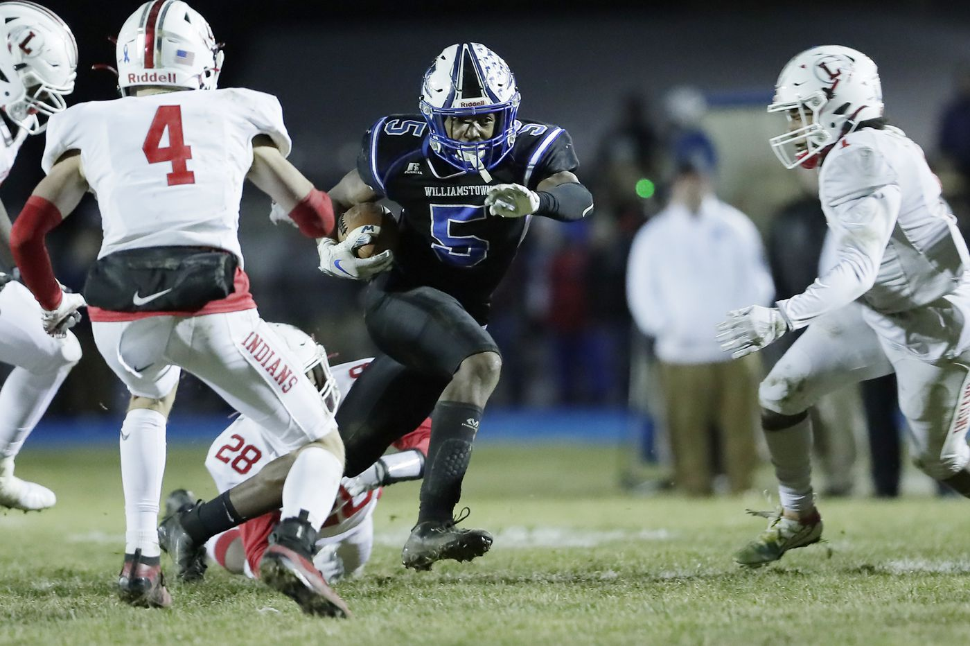 Williamstown rallies in second half to beat Lenape, claim South Jersey Group 5 title