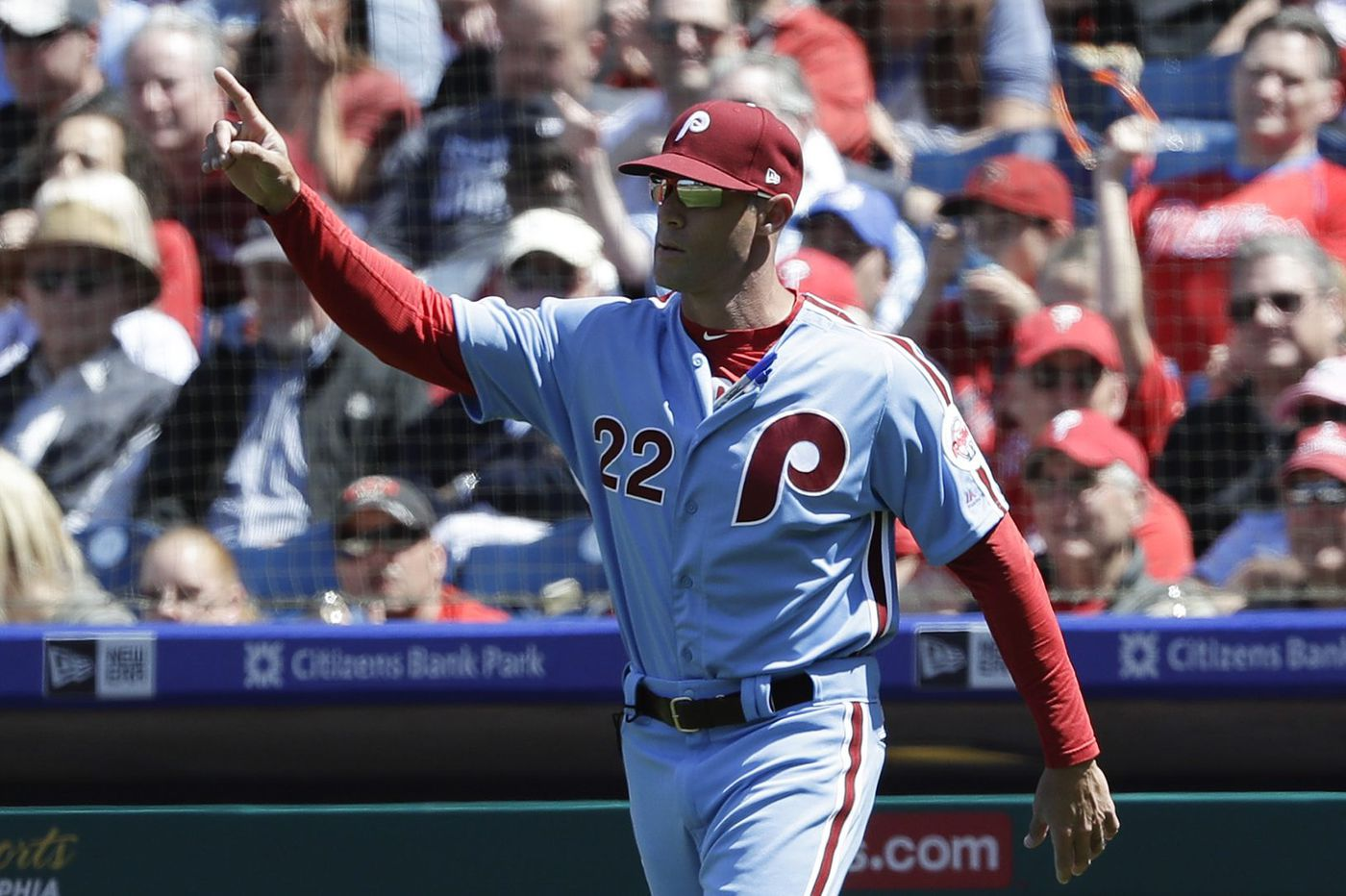 Gabe Kapler wants the Phillies to be open to adding a right-handed starter, too