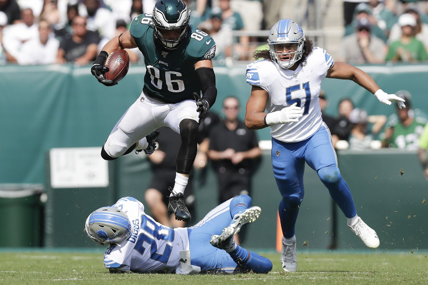 Vegas Vic's NFL Week 12 predictions: Zach Ertz staying hot for Eagles, and Lions to roll