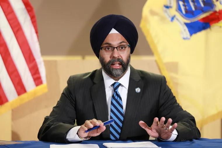 New Jersey Attorney General Gurbir S. Grewal