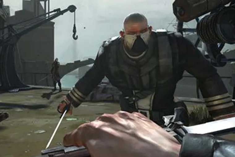 """This video game image released by Bethesda Softworks shows a scene from """"Dishonored."""" (AP Photo/Bethesda Softworks)"""