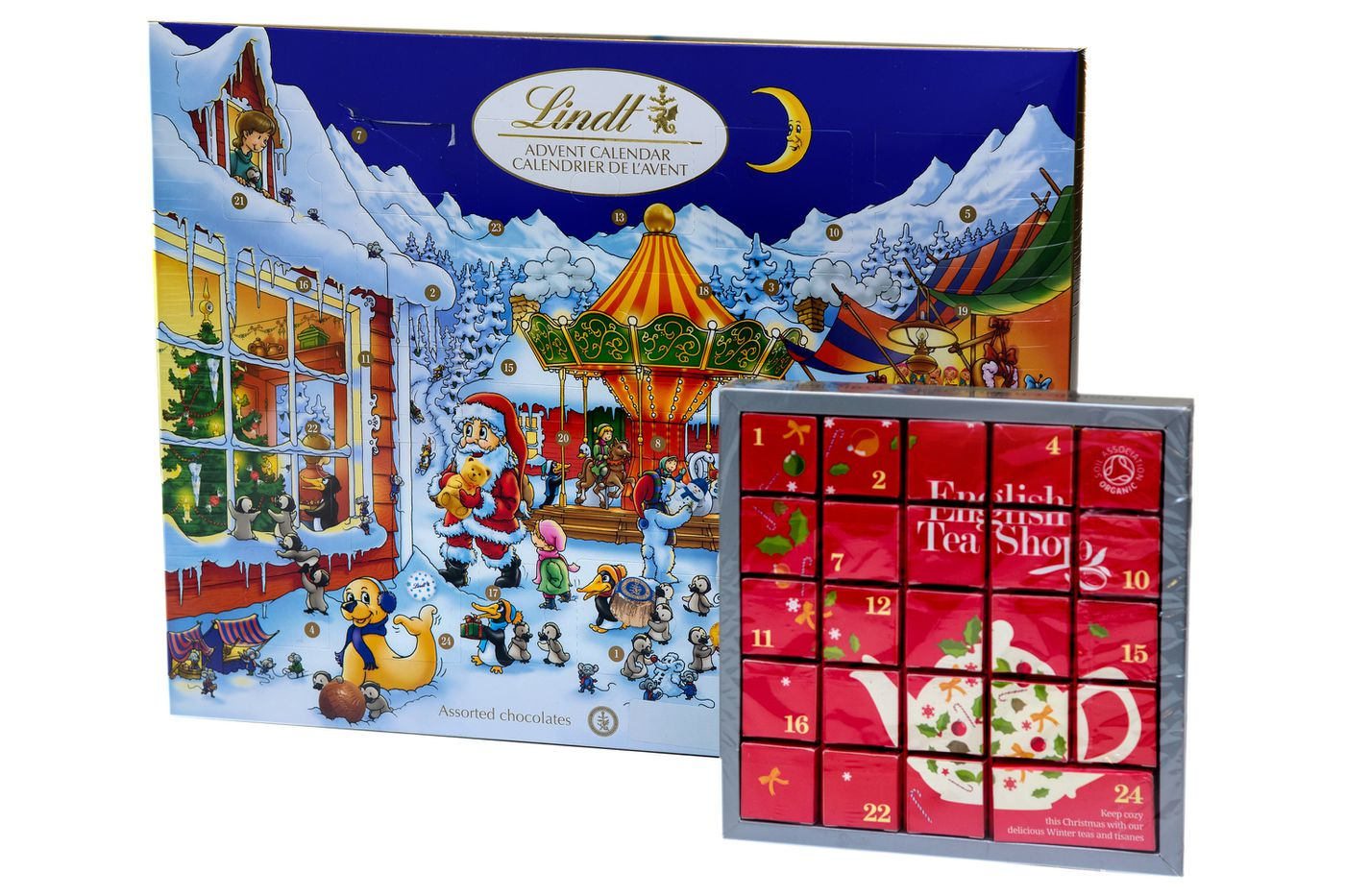 Eat and drink your way to Christmas with edible advent calendars