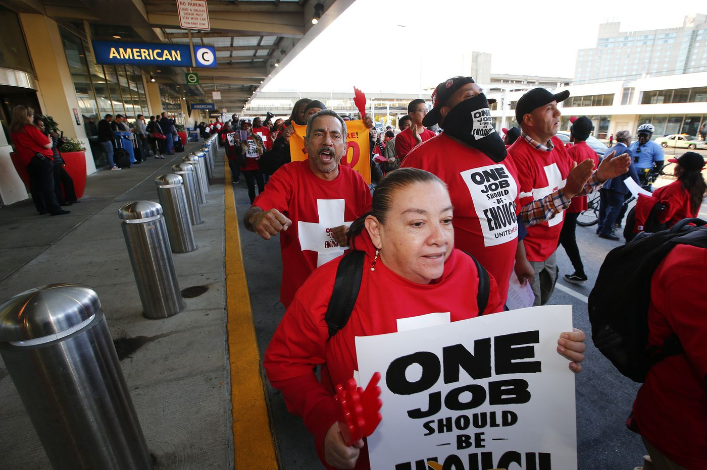 Why these workers are bypassing employers and protesting bigger targets: American Airlines and Ross