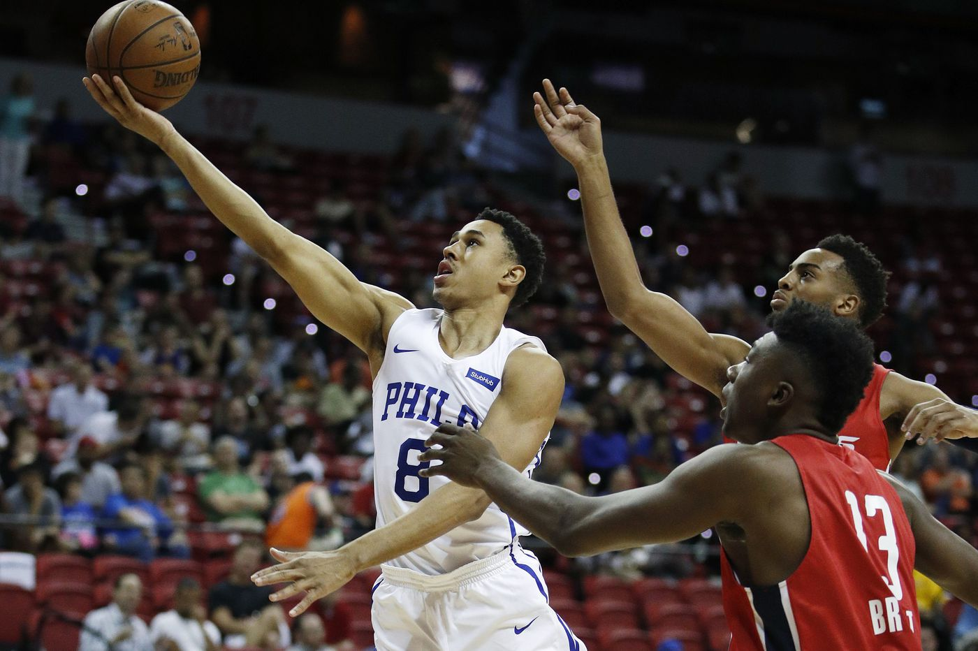 Sixers beat Suns in summer league in first Zhaire Smith-Mikal Bridges matchup