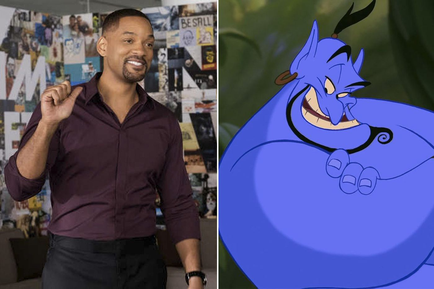 It's official: Will Smith is Disney's next Genie in live-action 'Aladdin' adaptation