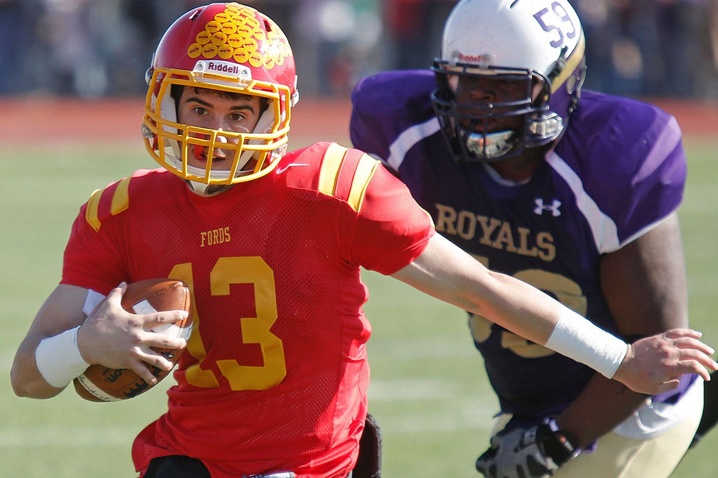 Haverford outlasts Upper Darby, 49-42, for Central League crown
