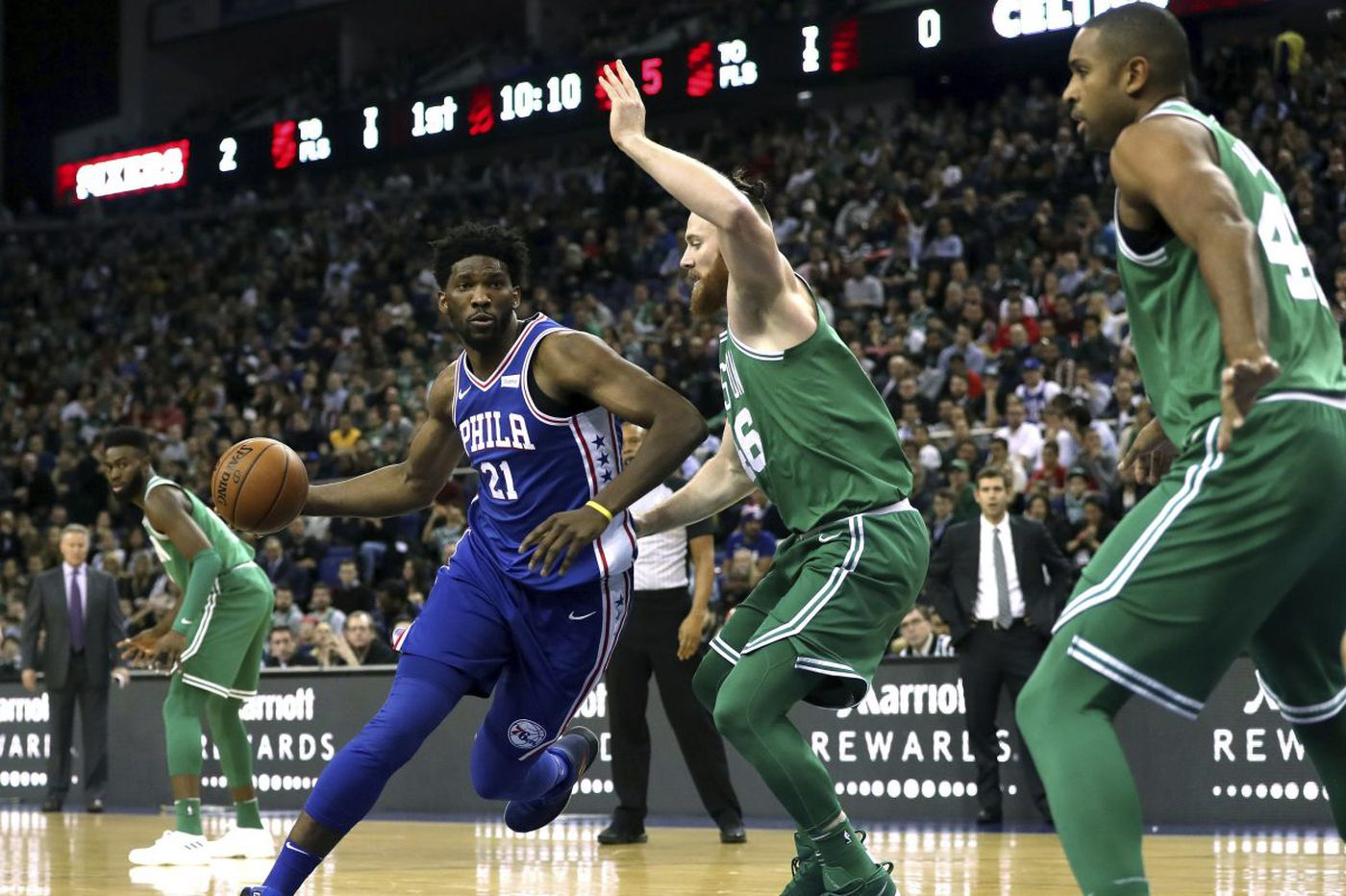 Sixers blow 22-point lead en route to 114-103 loss to Boston Celtics