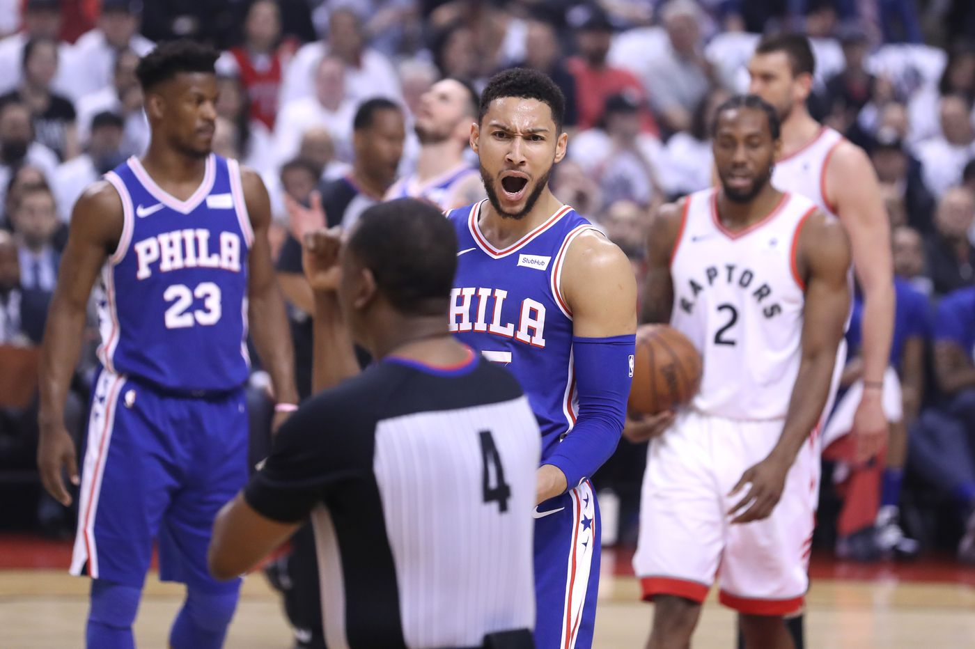 42e021b4e42 Sixers-Raptors: Reaction to Philly's blowout loss in Toronto to fall  behind, 3-2, in NBA playoffs series