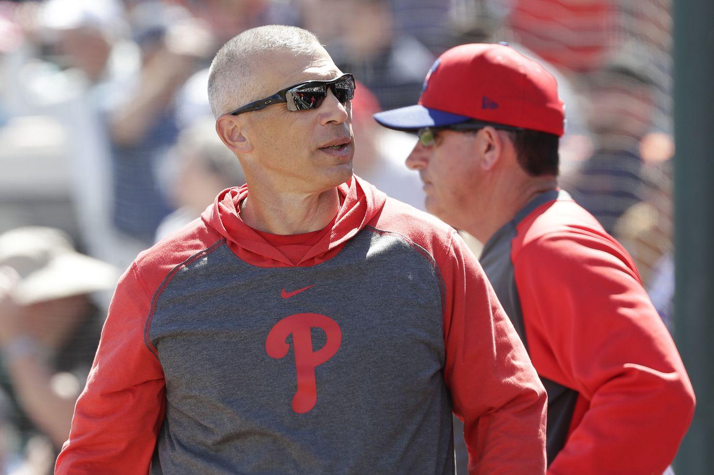 Phillies finalize Joe Girardi's coaching staff for 2021 season