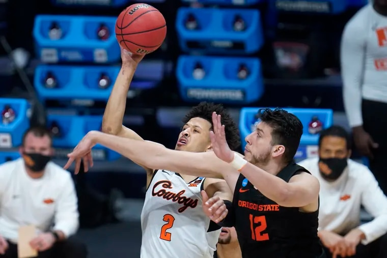 Oklahoma State guard Cade Cunningham (2) is expected to be the first player drafted.