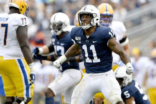 Micah Parsons, Penn State defense deliver crucial goal line stand in fourth quarter of win over Pitt