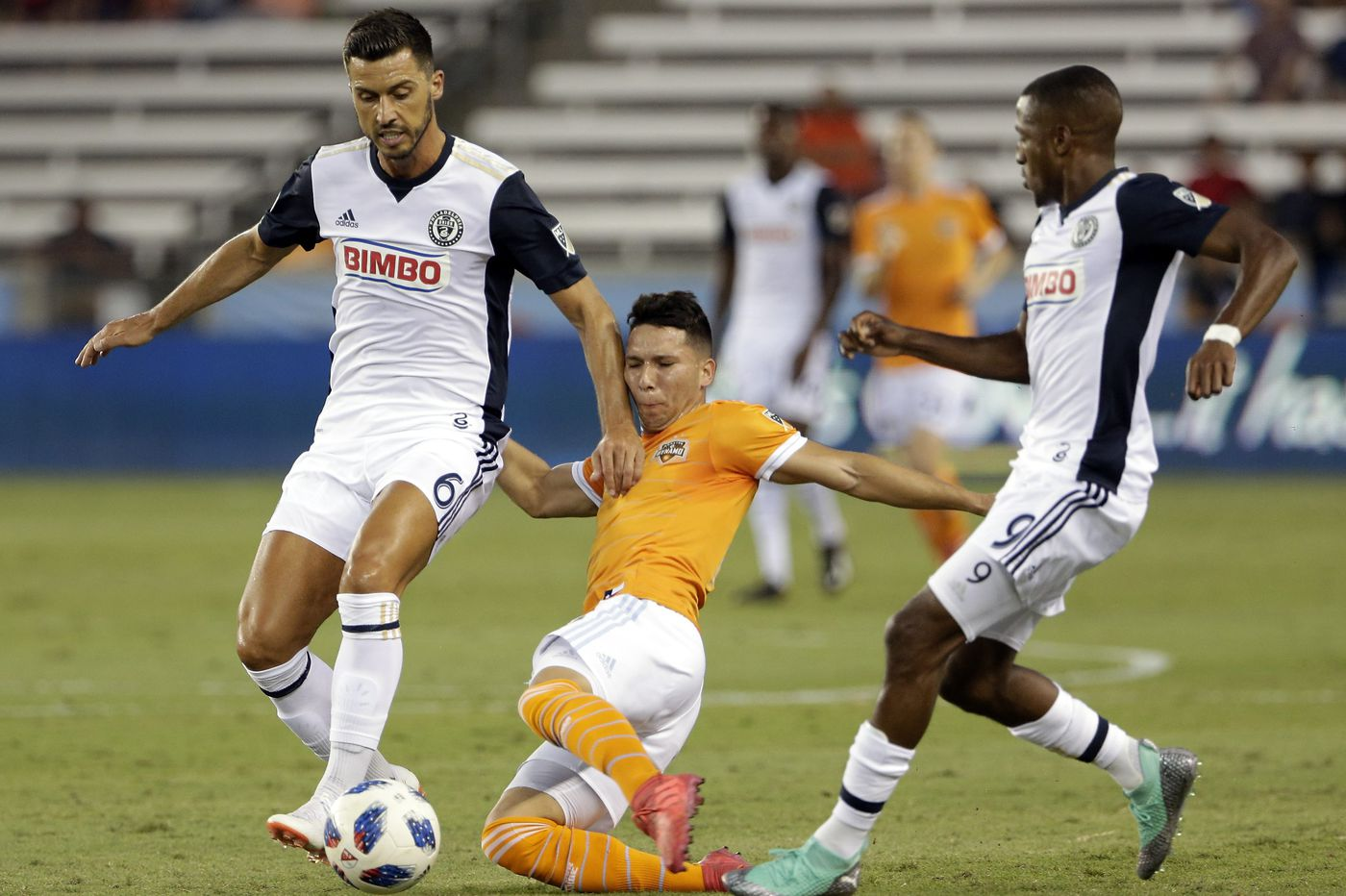Union cruise past Houston Dynamo for 3-1 road win