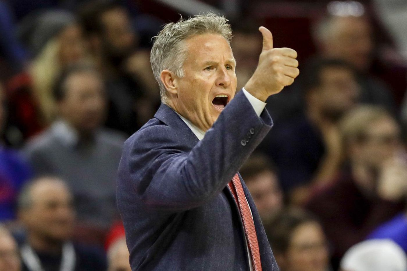Sixers coach Brett Brown: 'We've still got a long ways to go' on civil rights