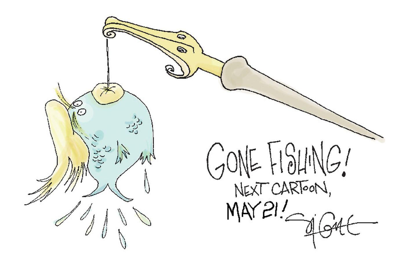 Cartoon: On vacation