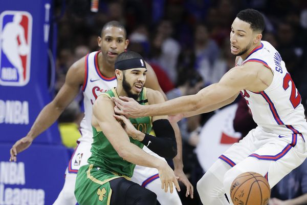 Sixers eyeing first sweep of Boston Celtics in season series since 2000-01 season