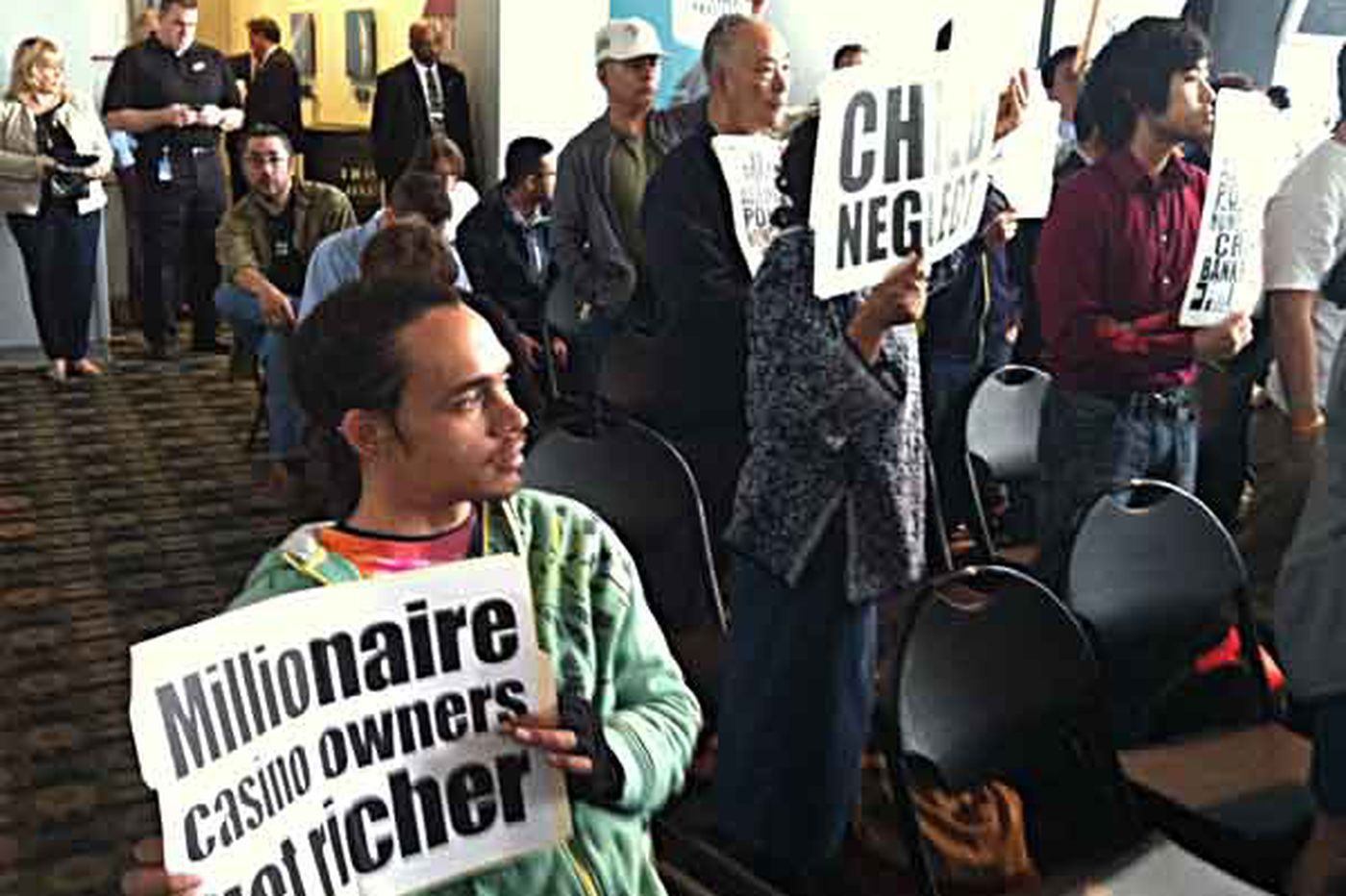 Many from Chinatown protest 2d Philly casino
