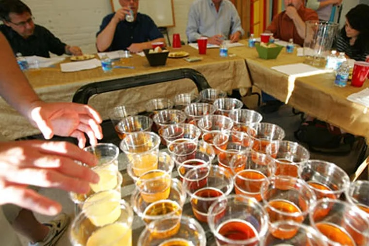 The Brew-vitational: 28 beers from 18 breweries. (DAVID SWANSON / Staff Photographer)