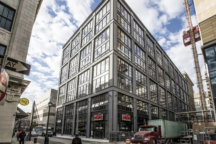 The former commercial building at 11th and Ludlow has been given a new look by New York architect Morris Adjmi.