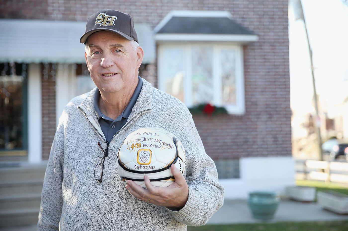 Mickey McGroarty, founder of the St. Hubert soccer team, looks back on 43 years of coaching