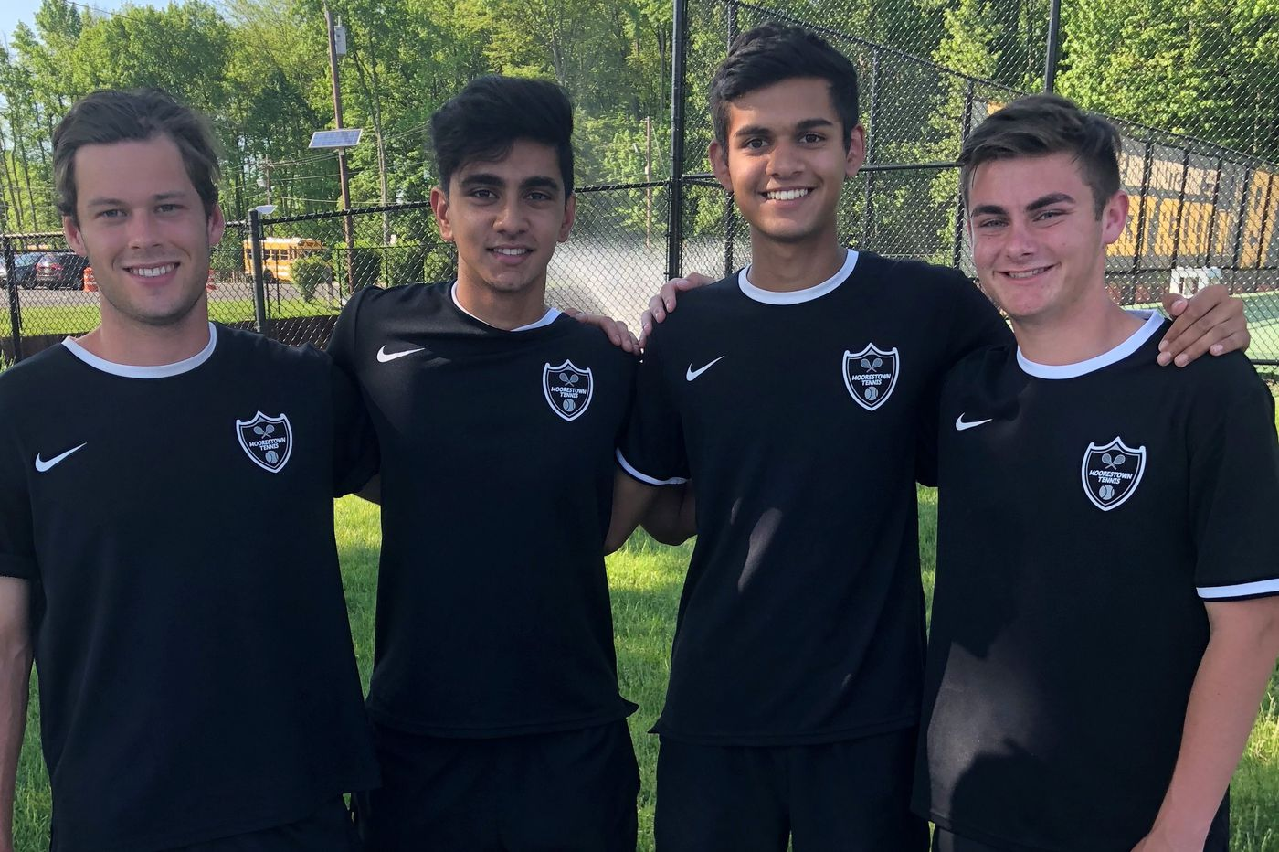 Moorestown seniors combine for more than 400 tennis wins