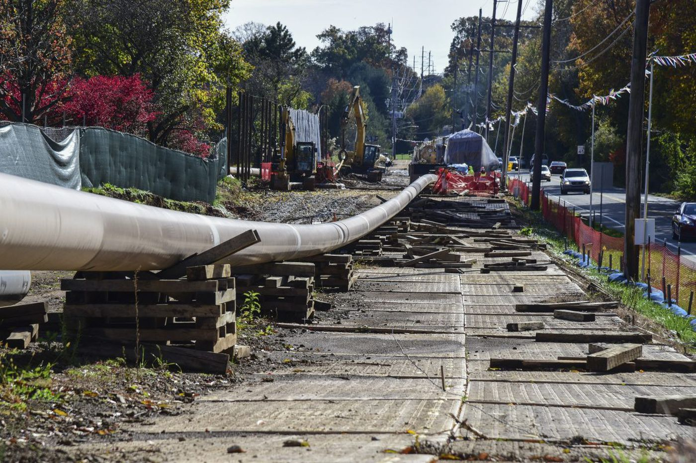 DEP halts construction of Sunoco's $2.5B Mariner East 2 pipeline