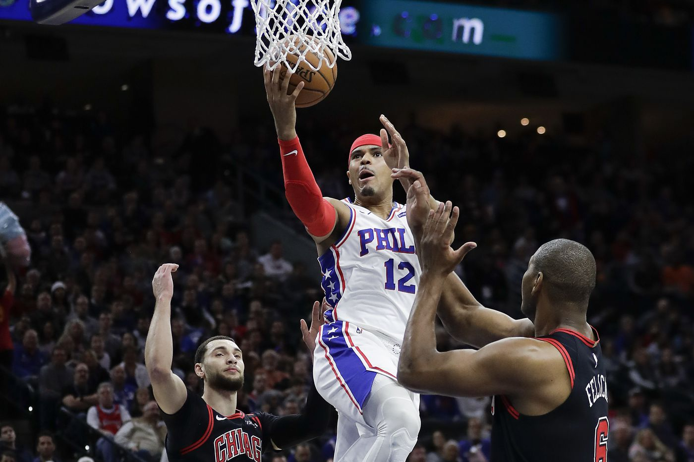 Tobias Harris is happy to renew ties with new 76ers coach Doc Rivers