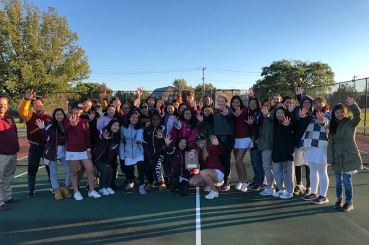 Thursday's Southeastern Pa. roundup: Central girls' tennis wins fifth consecutive district title