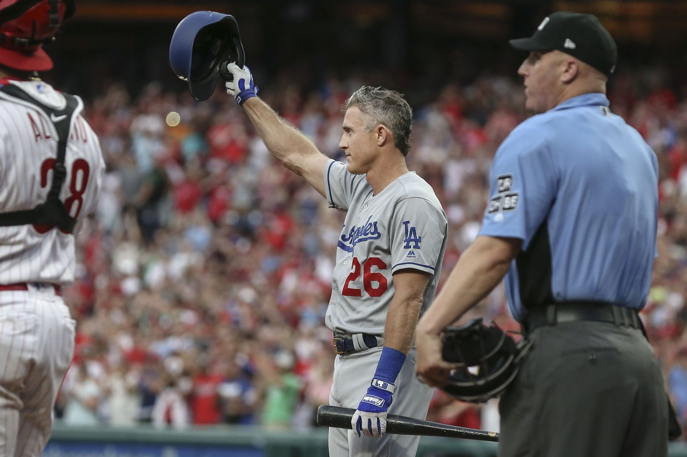 Chase Utley will always be 'The Man' around here   Bob Brookover