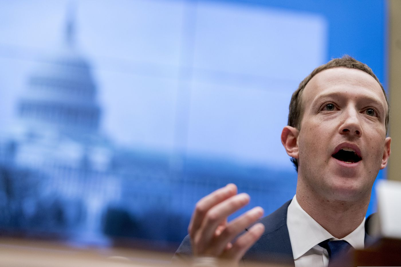 Zuckerberg fears 'erosion of truth' but defends allowing politicians to lie in ads