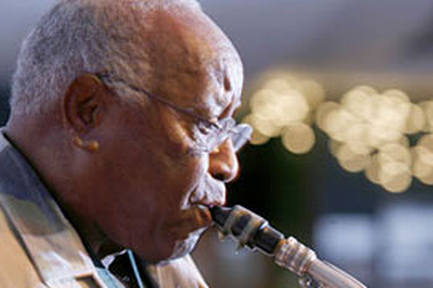 Sax man remains a tireless champion of jazz