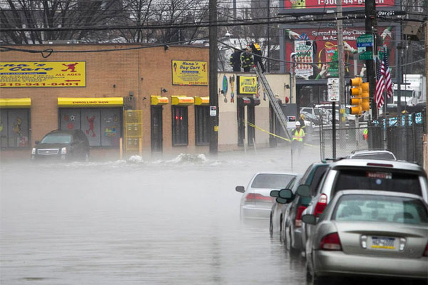 Frankford businesses deal with fallout from water-main break