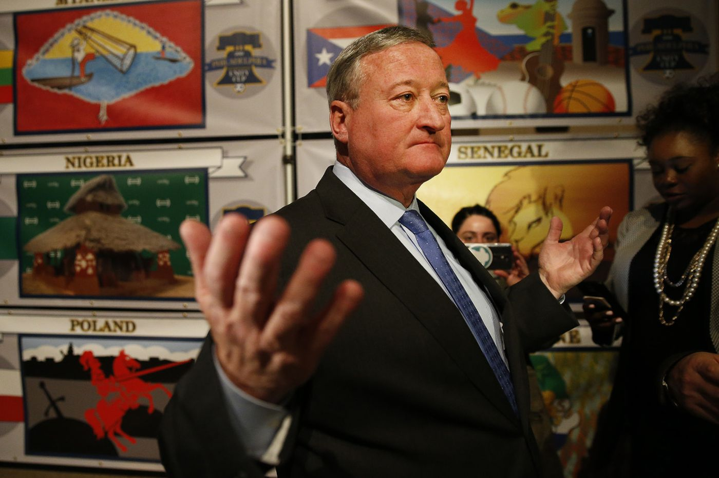 Newall: Under pressure to smile, Mayor Kenney reviews his rookie season