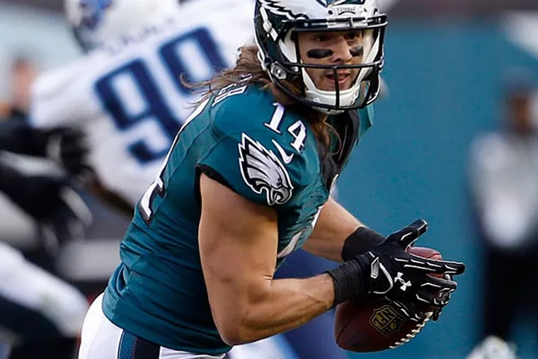 Eagles wide receiver Riley Cooper. (Yong Kim/Staff Photographer)