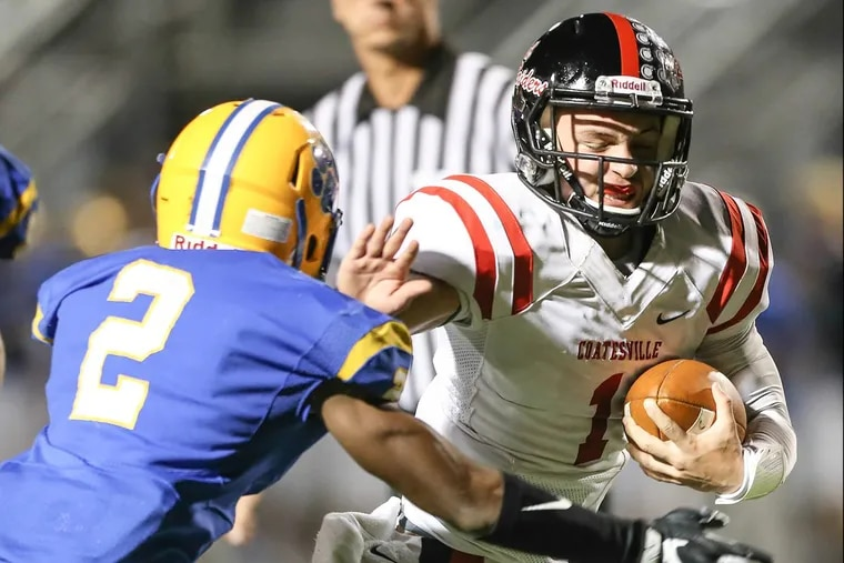 Quarterback Ricky Ortega (right) and Coatesville are set for Friday night's PIAA District 1 Class 6A quarterfinal playoff vs. Downingtown East.