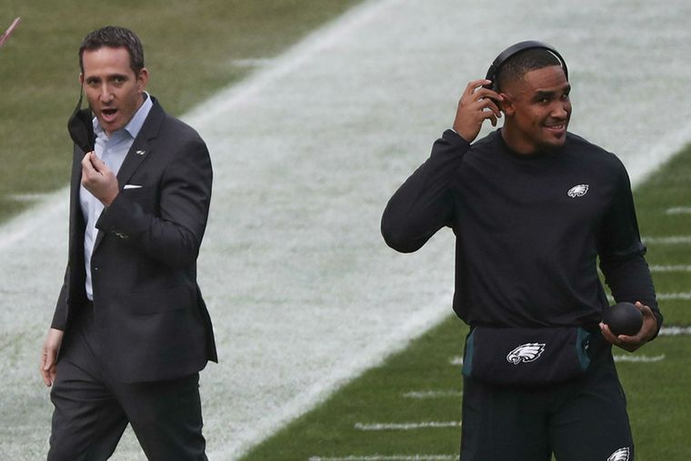 Jalen Hurts should be furious at his treatment by the Eagles and GM Howie Roseman | Marcus Hayes