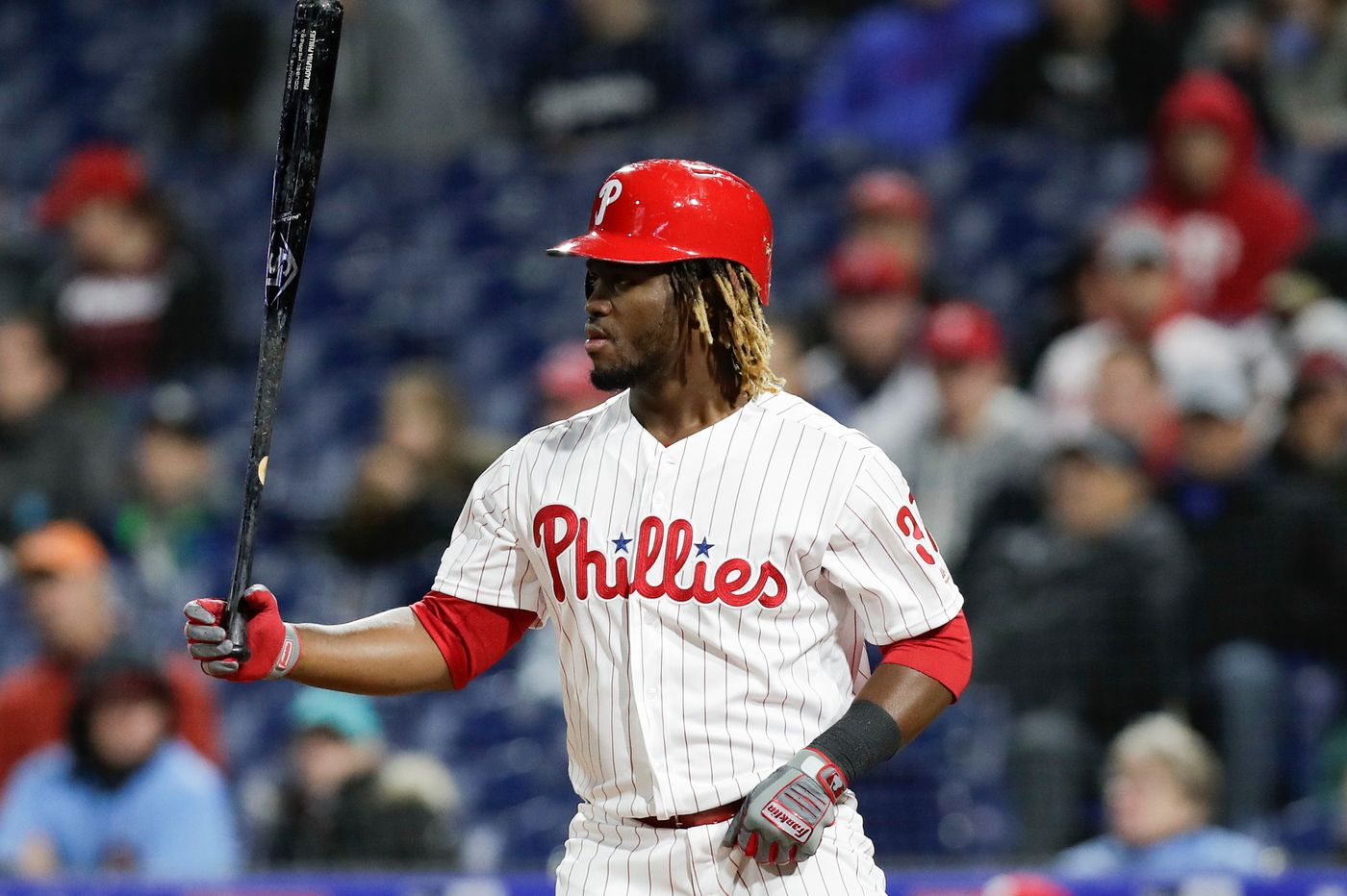 Phillies' Odubel Herrera placed on leave by MLB after arrest for domestic violence charge