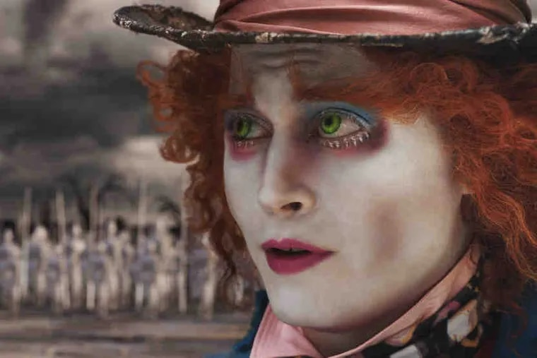"""Tim Burton's take on """"Alice in Wonderland"""" was converted from 2-D to take advantage of 3-D."""