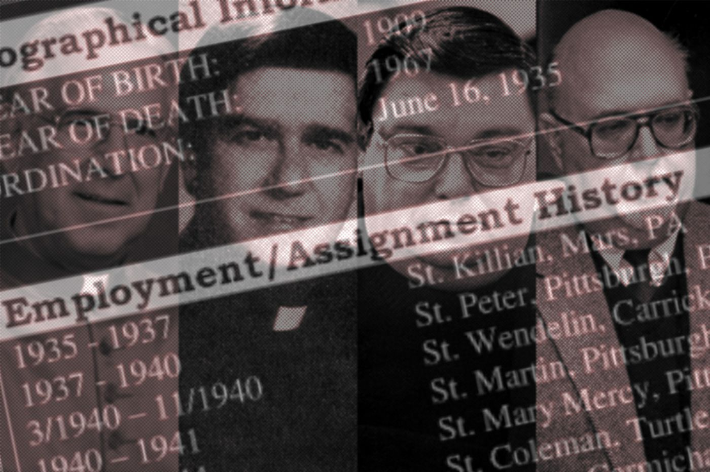 Pa. Catholic church sex abuse report: Look up the churches where hundreds of accused priests worked and lived