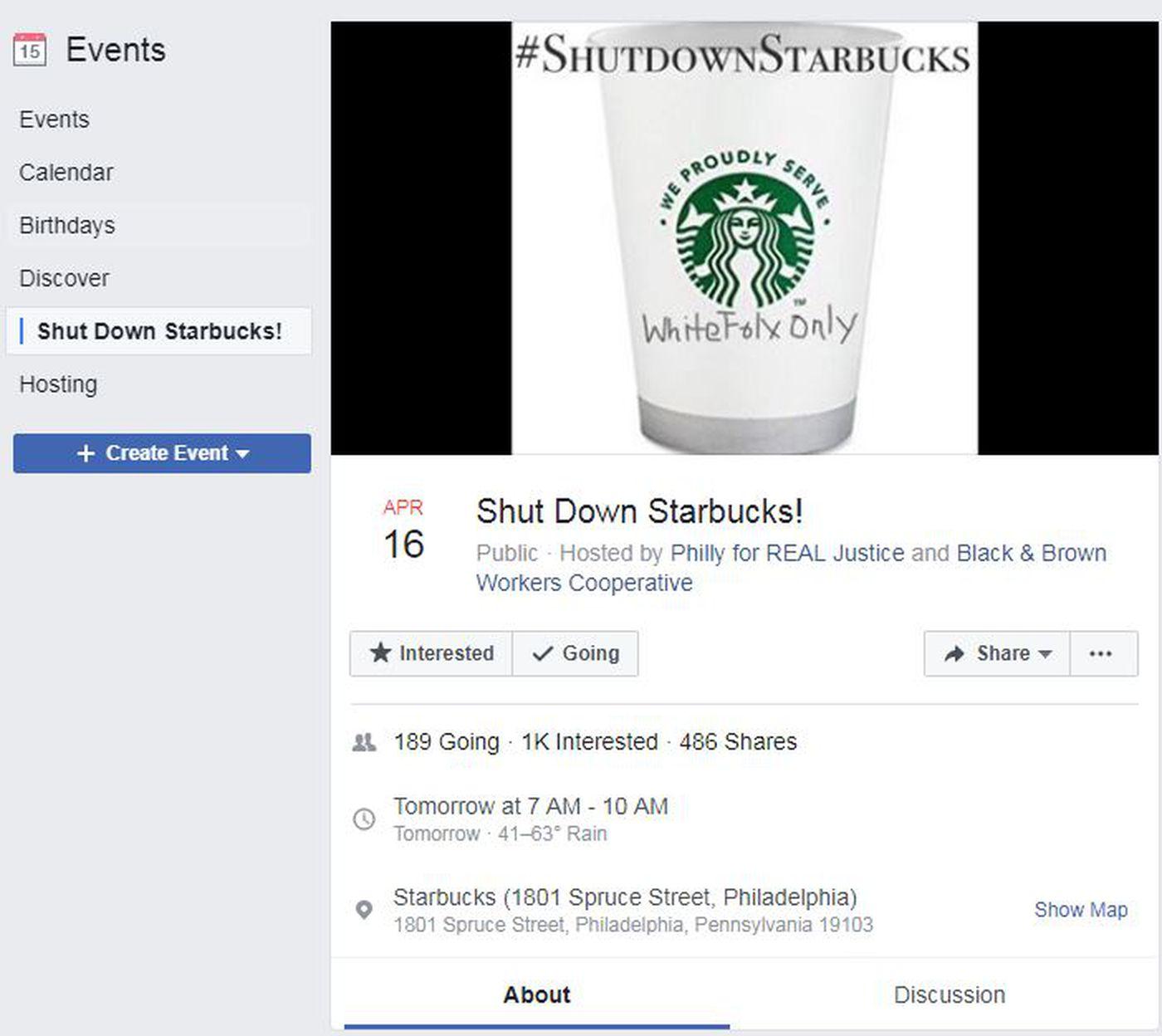 Starbucks CEO in Philadelphia as protests resume at Center City ...